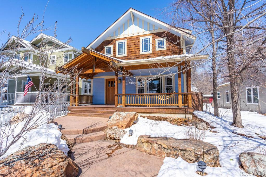 Photo of home for sale at 828 Maple Street, Fort Collins CO