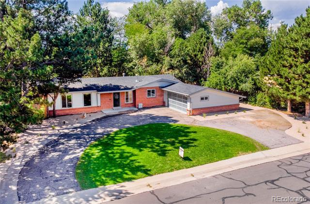 Photo of home for sale at 2549 Holly Place South, Denver CO