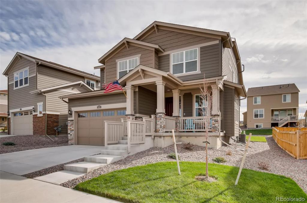 Photo of home for sale at 3205 Ireland Moss Street, Castle Rock CO