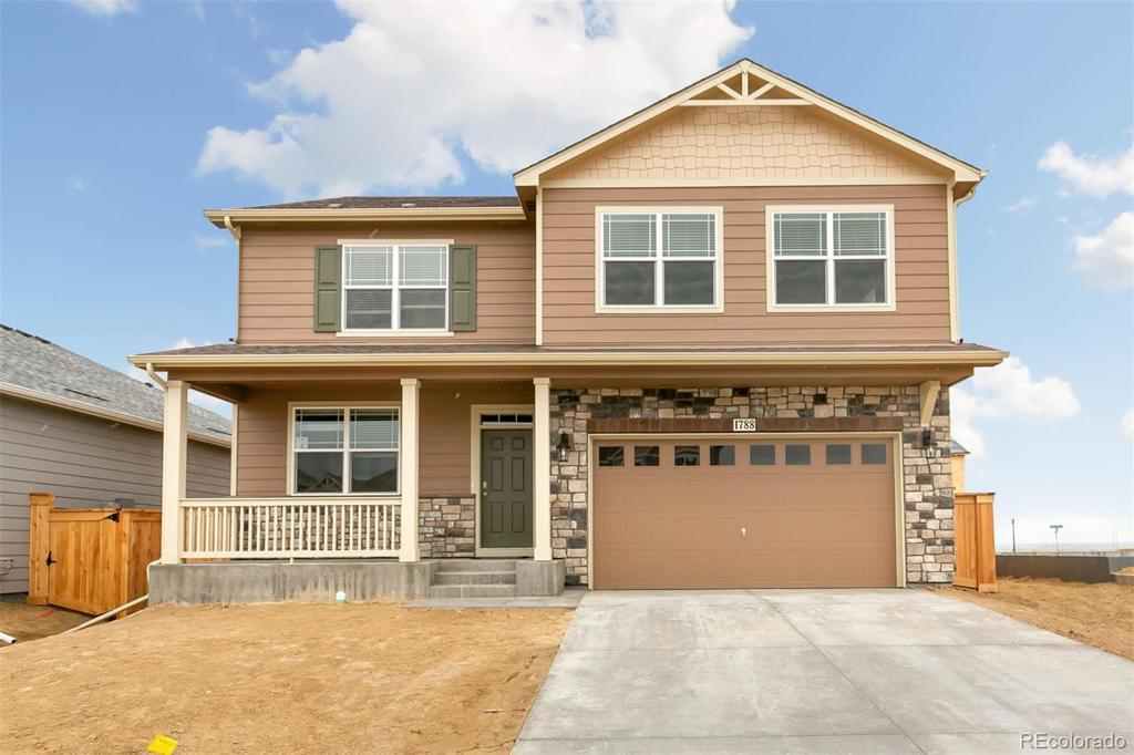 Photo of home for sale at 1773 Nightfall Drive, Windsor CO