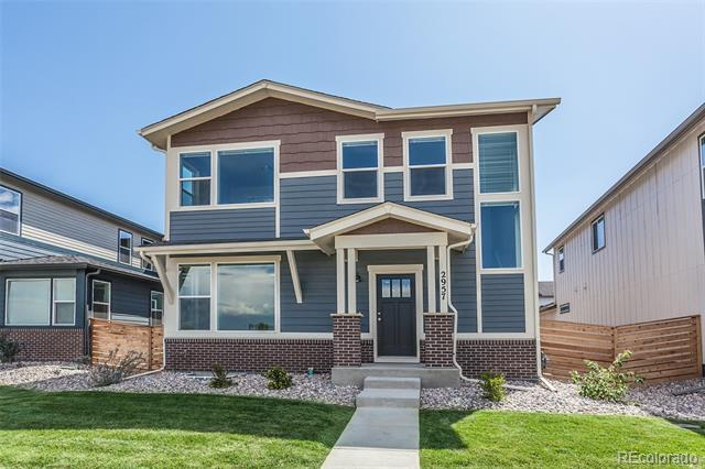 Photo of home for sale at 2957 Conquest Street, Fort Collins CO