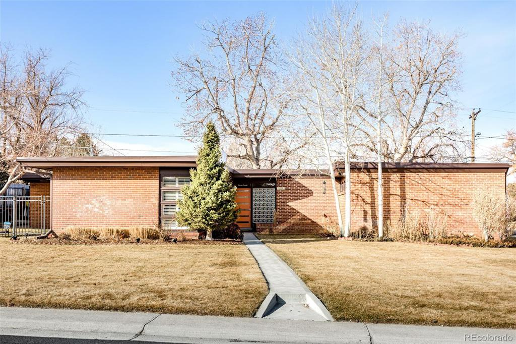 Photo of home for sale at 3401 Dexter Street S, Denver CO