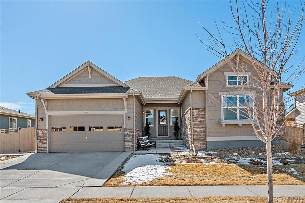 Photo of home for sale at 7080 Warren Avenue W, Lakewood CO