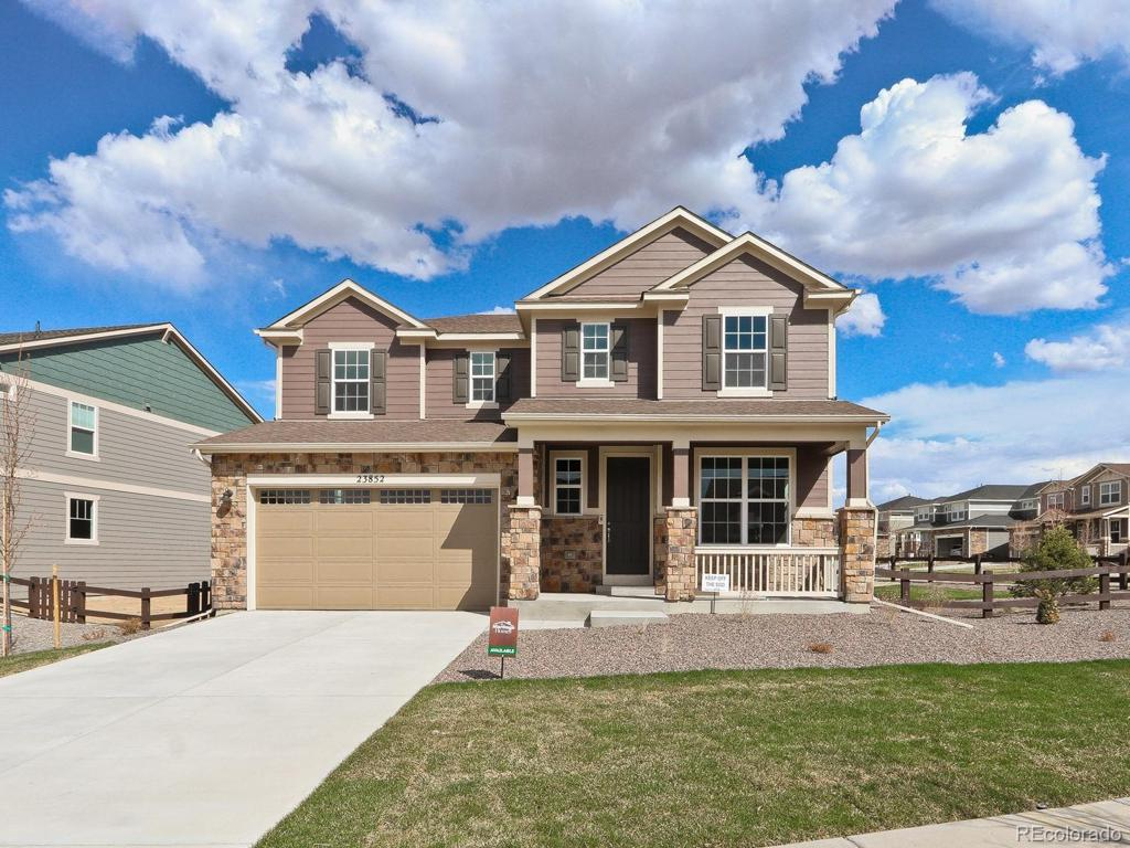 Photo of home for sale at 23852 Minnow Circle E, Aurora CO