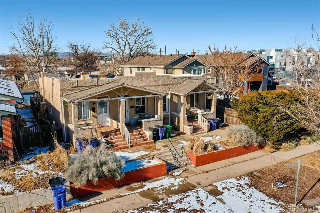Photo of home for sale at 1573 Hooker Street N, Denver CO