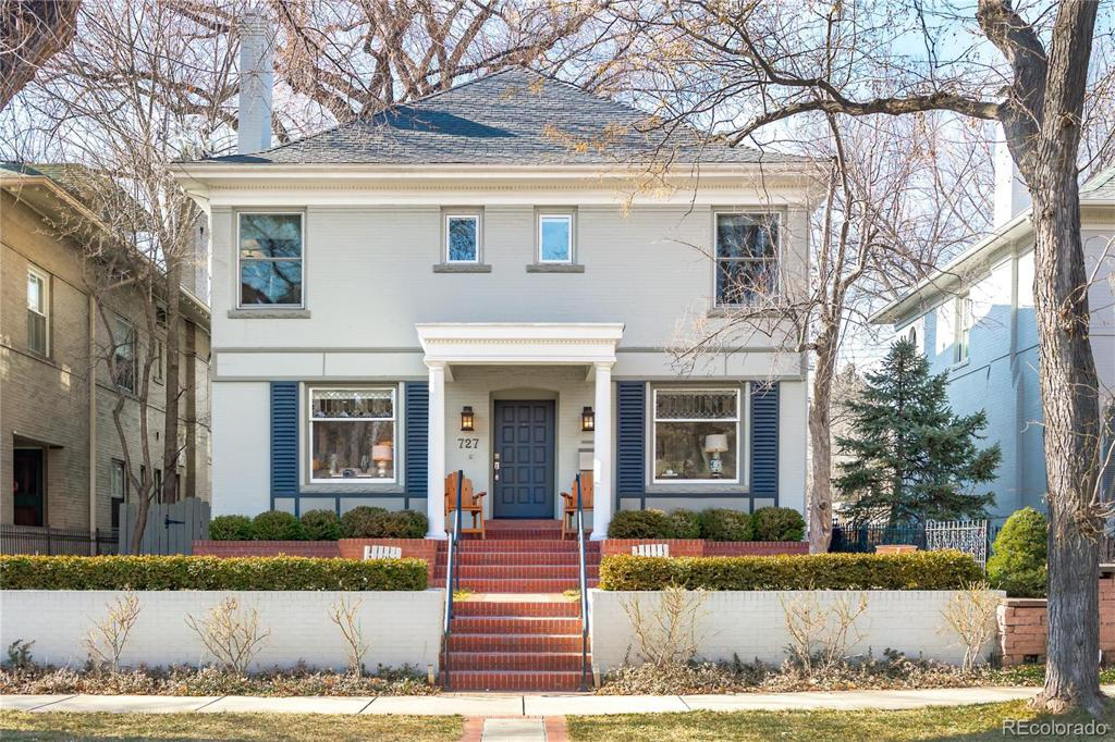 Photo of home for sale at 727 Marion Street N, Denver CO