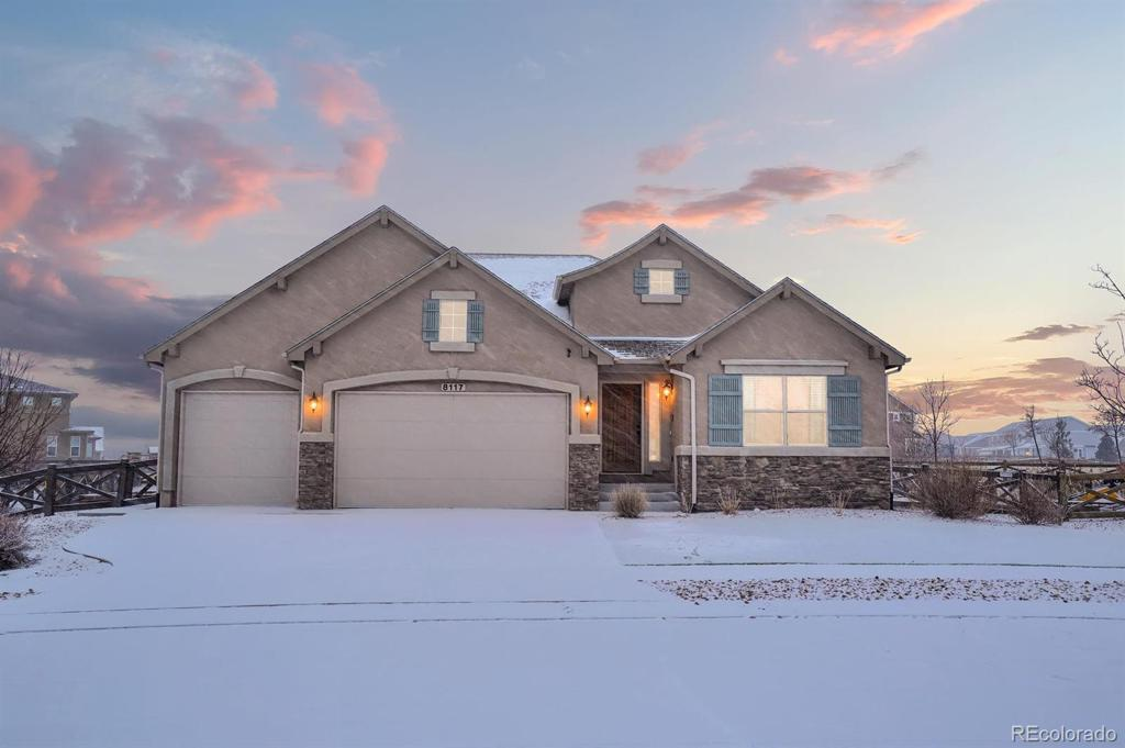 Photo of home for sale at 8117 Foxtail Pine Place, Colorado Springs CO