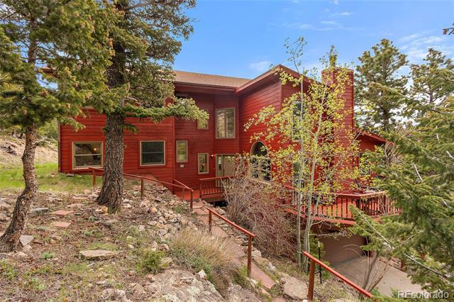 Photo of home for sale at 69 Spruce Court, Evergreen CO