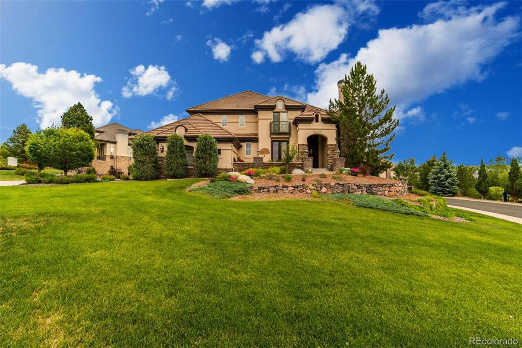 Photo of home for sale at 10000 Shadow Hill Drive S, Lone Tree CO