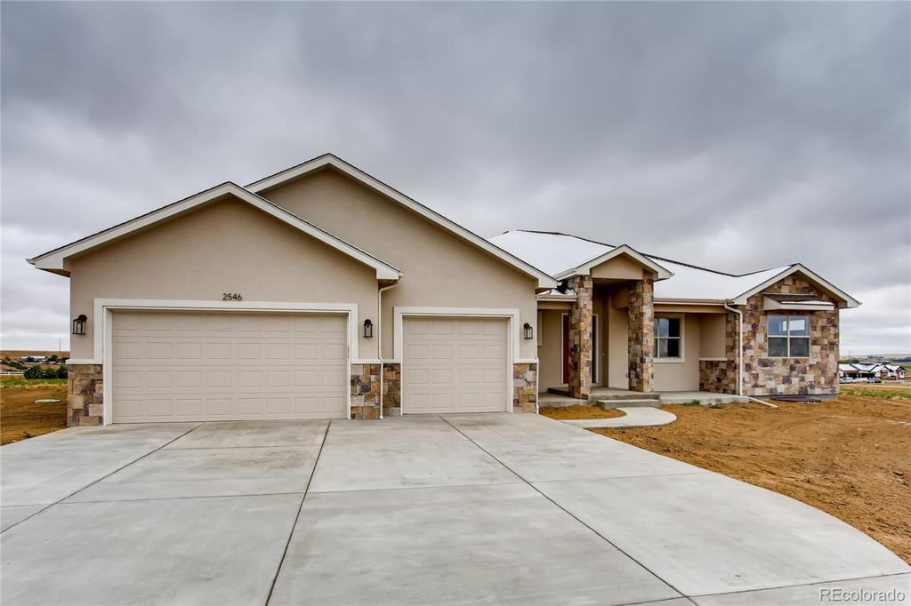 Photo of home for sale at 2546 Branding Iron Drive, Severance CO
