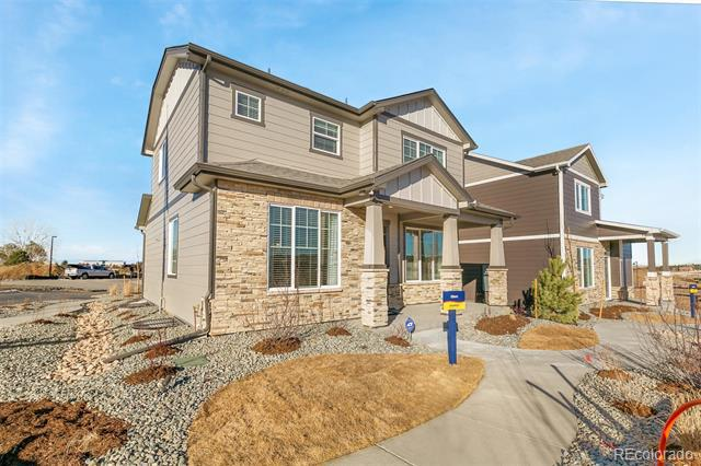 Photo of home for sale at 11758 Lovegrass Drive, Parker CO