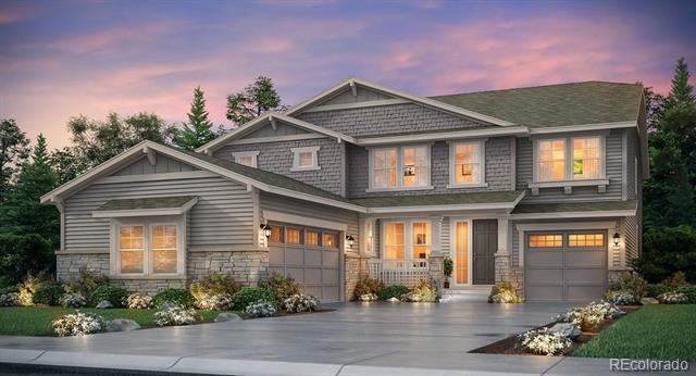 Photo of home for sale at 23068 Narrowleaf Drive E, Aurora CO