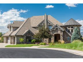 Property for sale at 10285 Dowling Court, Highlands Ranch,  Colorado 80126