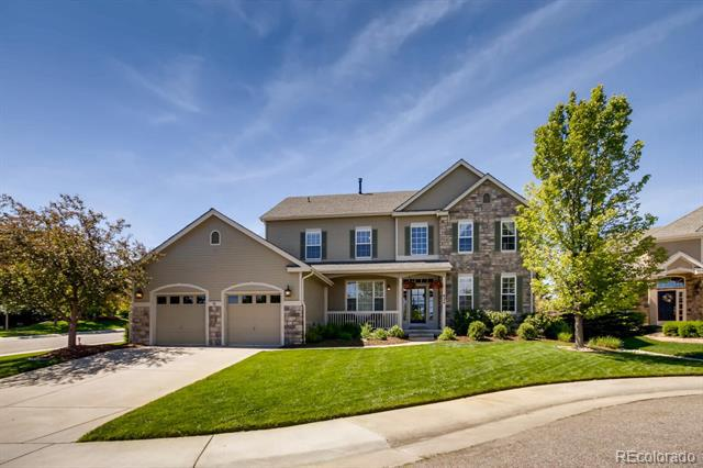 Photo of home for sale at 624 Horan Court, Castle Pines CO
