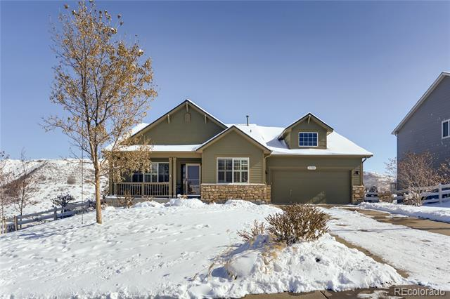Photo of home for sale at 3730 Aspen Hollow Court, Castle Rock CO
