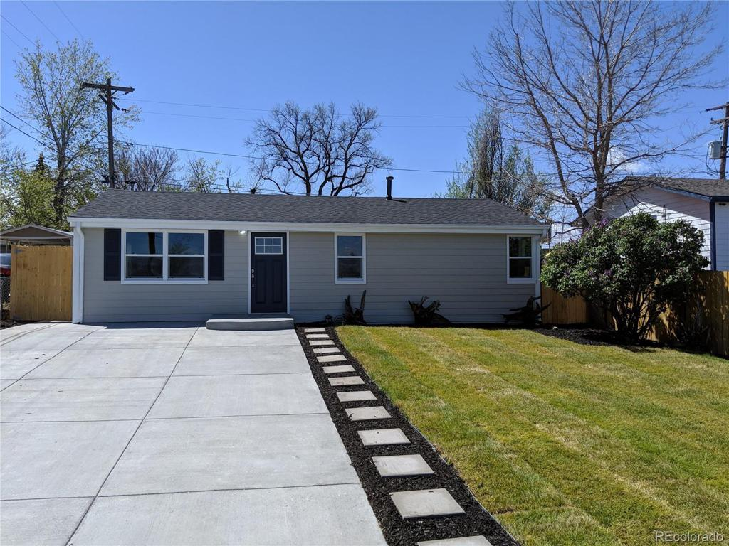 Photo of home for sale at 2940 54th Avenue W, Denver CO
