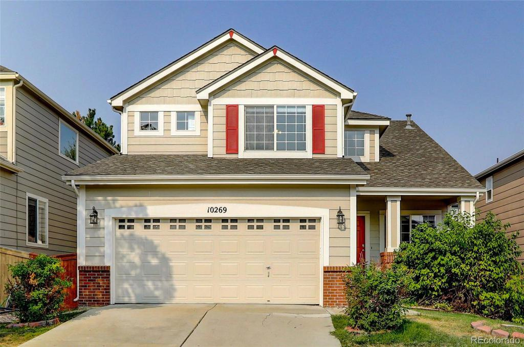 Photo of home for sale at 10269 Rotherwood Circle, Highlands Ranch CO