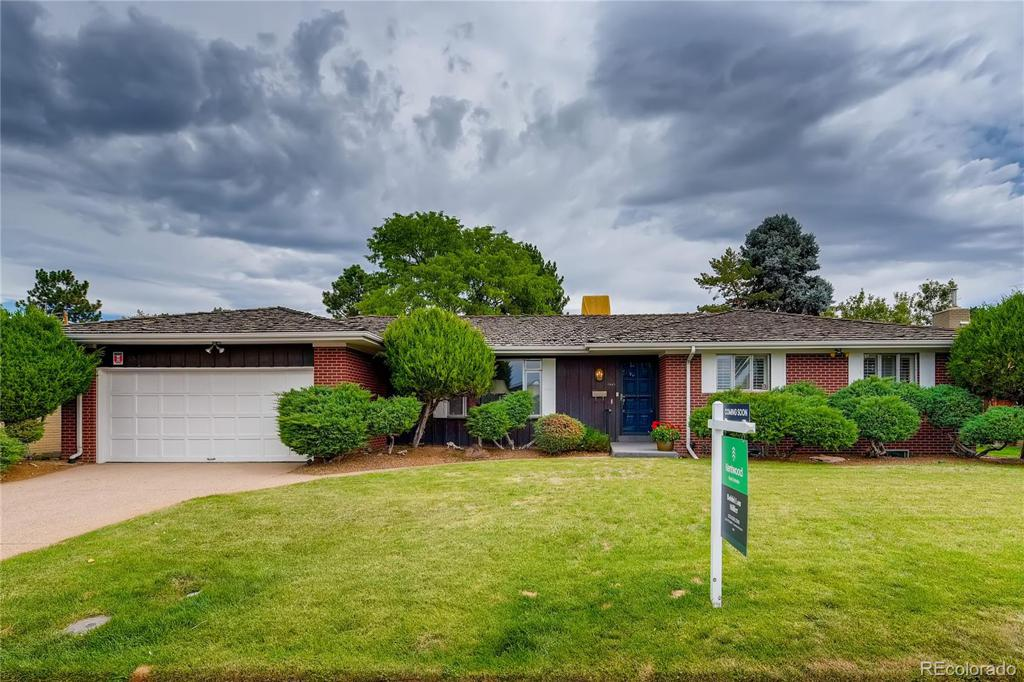 Photo of home for sale at 7043 Ohio Drive E, Denver CO