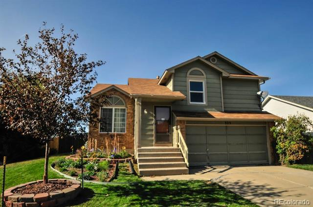 Photo of home for sale at 325 Holcomb Street North, Castle Rock CO