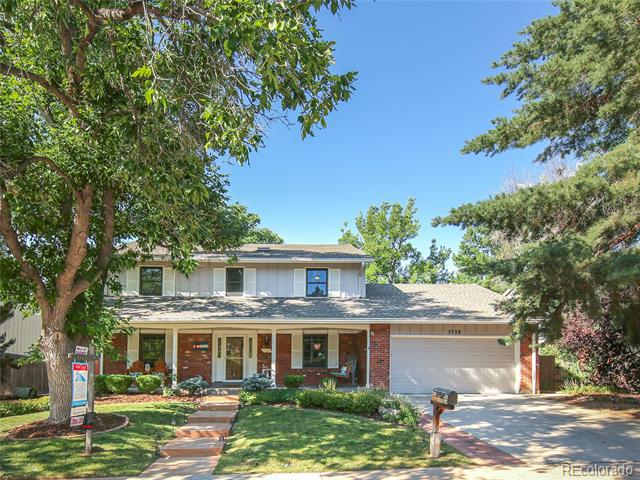 Photo of home for sale at 3758 Geddes Place E, Centennial CO