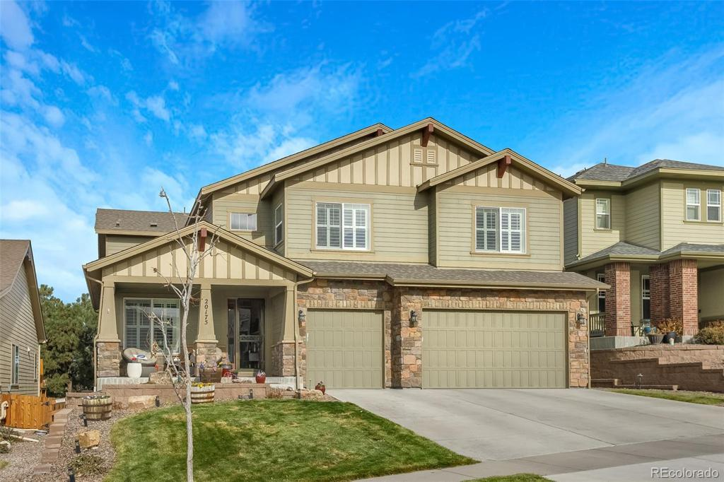 Photo of home for sale at 20175 Spruce Point Place, Parker CO