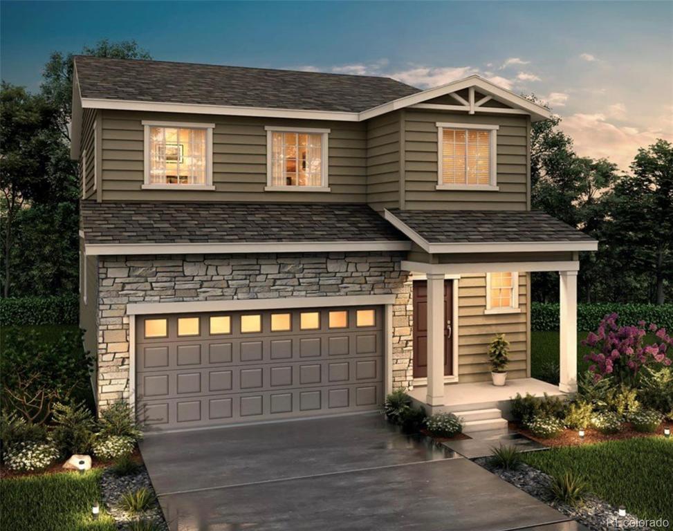 Photo of home for sale at 5354 Blue Lunar Lane, Castle Rock CO