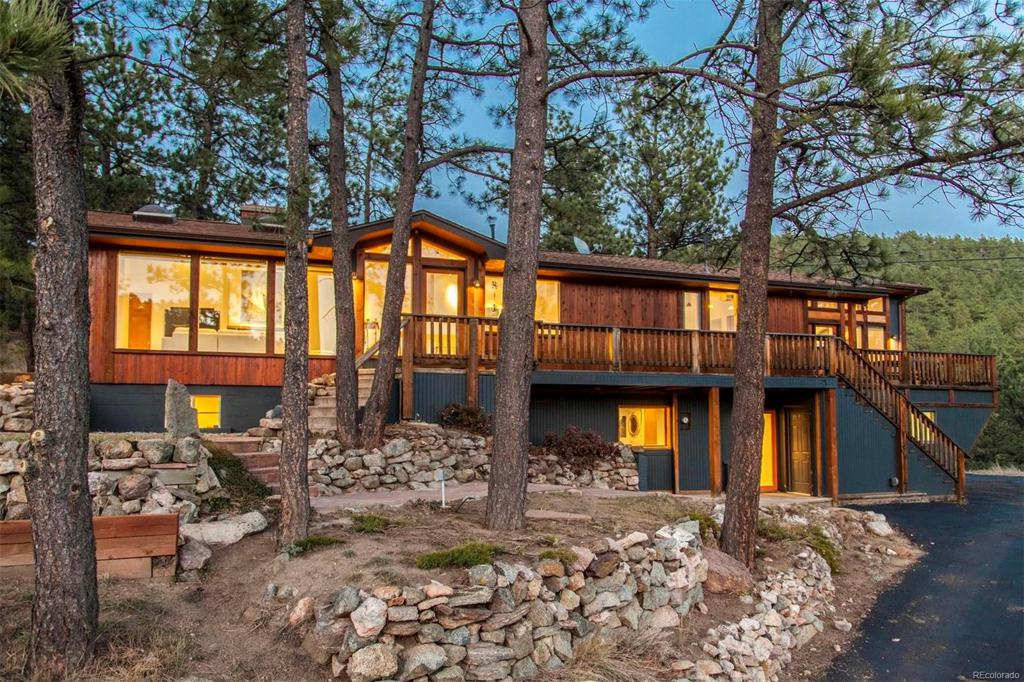 Photo of home for sale at 1996 Fourmile Canyon Drive, Boulder CO