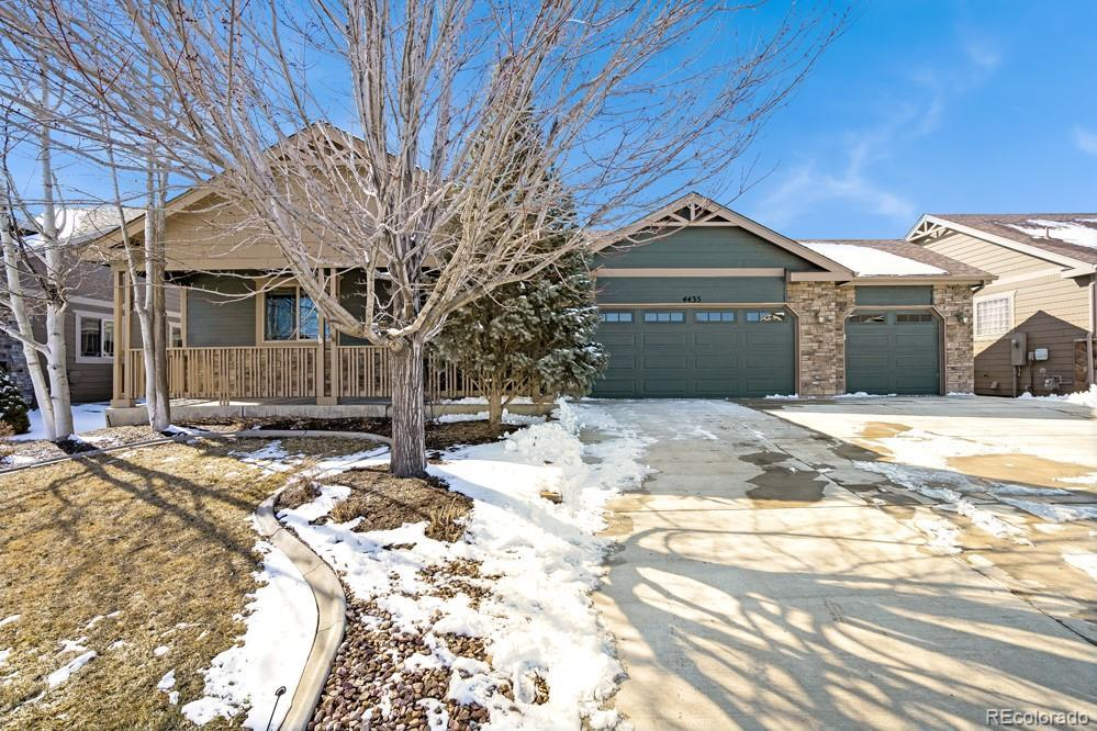 Photo of home for sale at 4435 Cushing Drive, Loveland CO