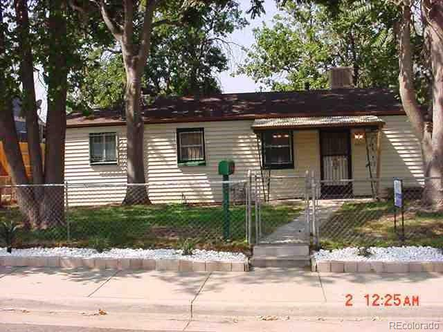 Photo of home for sale at 4355 Adams Street, Denver CO