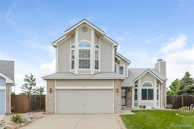 Photo of home for sale at 9927 Deer Creek Street, Highlands Ranch CO