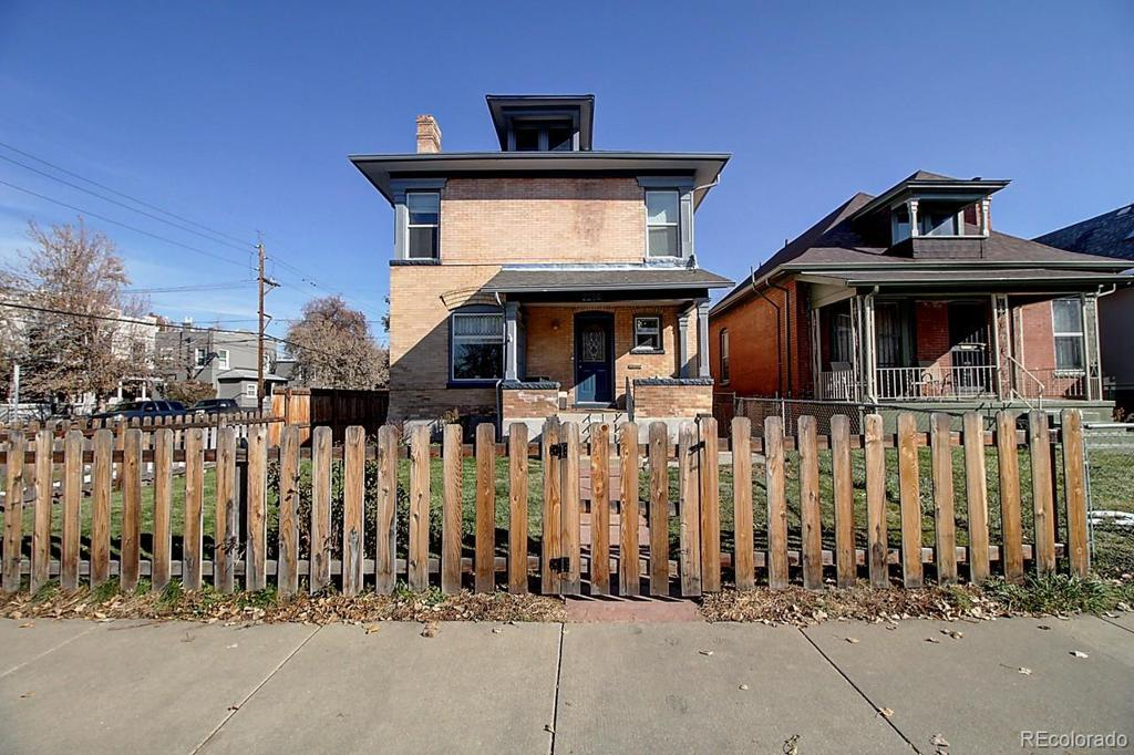 Photo of home for sale at 2256 Williams Street N, Denver CO