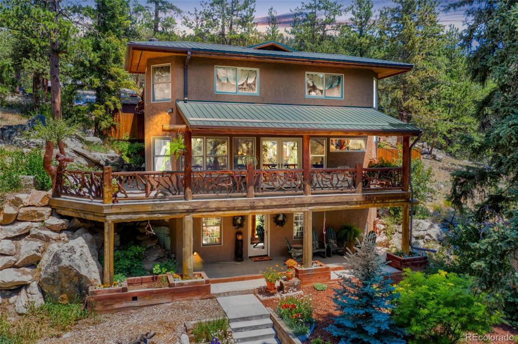 Photo of home for sale at 55 Fox Creek Road, Glen Haven CO