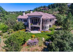 Property for sale at 1058 Country Club Estates Drive, Castle Rock,  Colorado 80108