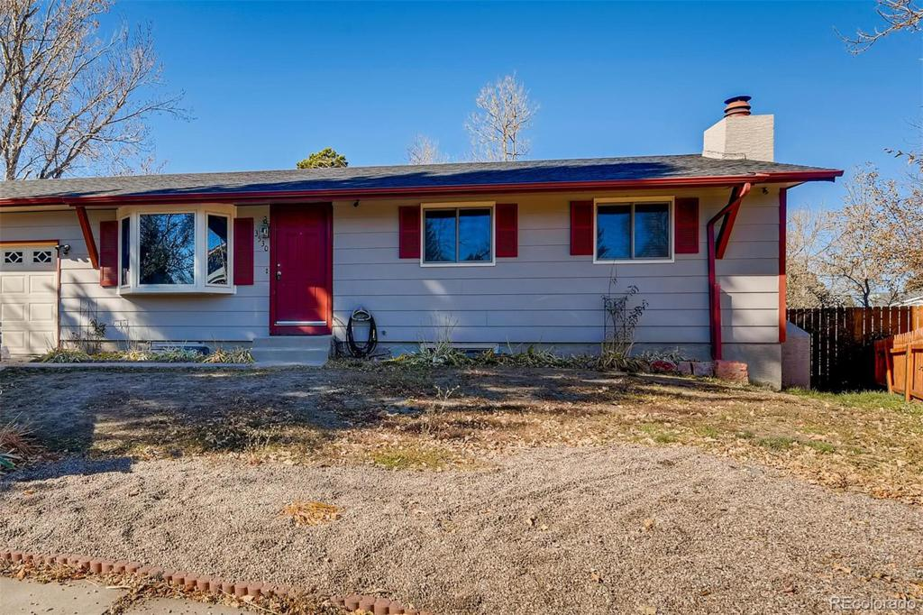 Photo of home for sale at 3530 Merriment Way, Colorado Springs CO