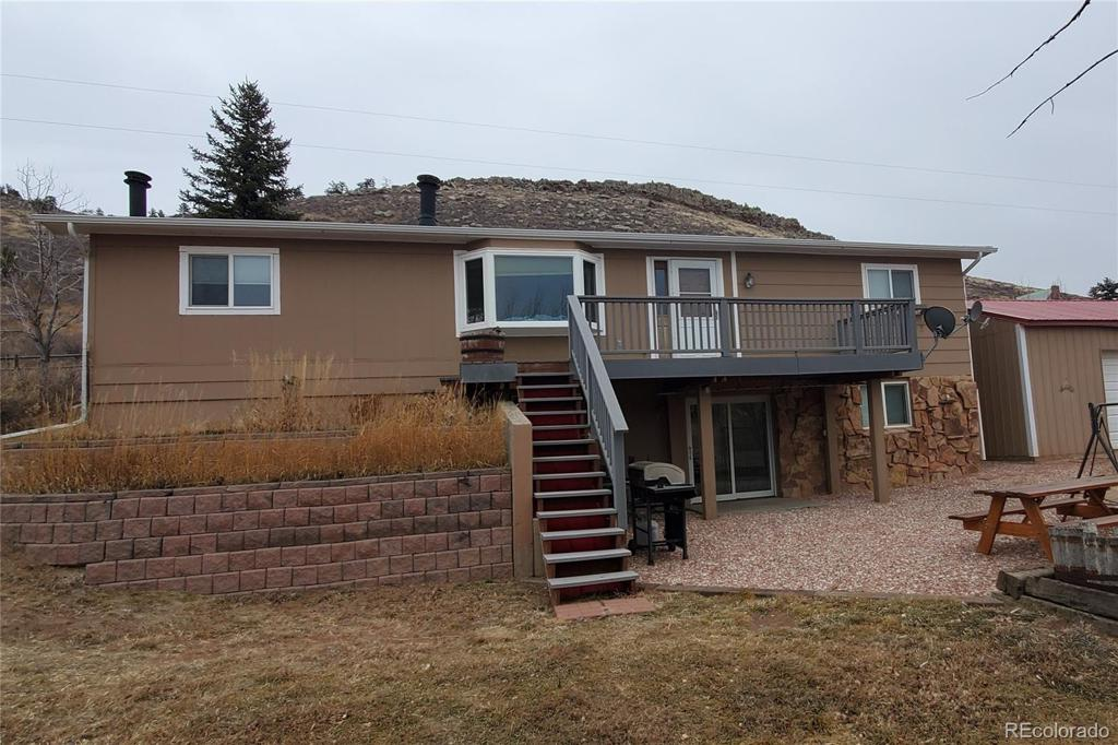 Photo of home for sale at 608 County Road 31 N, Berthoud CO
