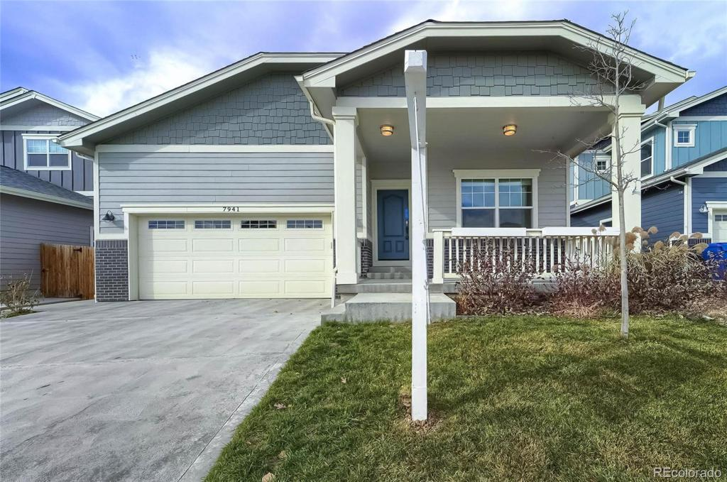 Photo of home for sale at 7941 Tejon Street, Denver CO