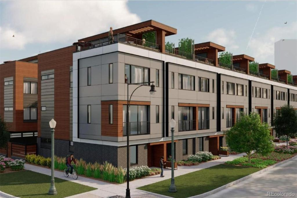 Photo of home for sale at 2350 TREMONT Place, Denver CO