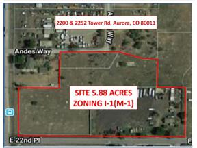 Property for sale at 2200 Tower Road, Aurora,  Colorado 80011