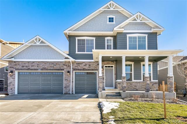 Photo of home for sale at 1618 Wingfeather Lane, Castle Rock CO