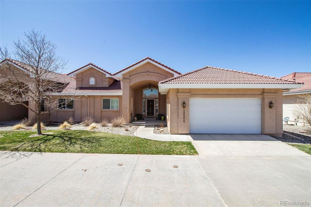 Photo of home for sale at 13964 Paradise Villas Grove, Colorado Springs CO