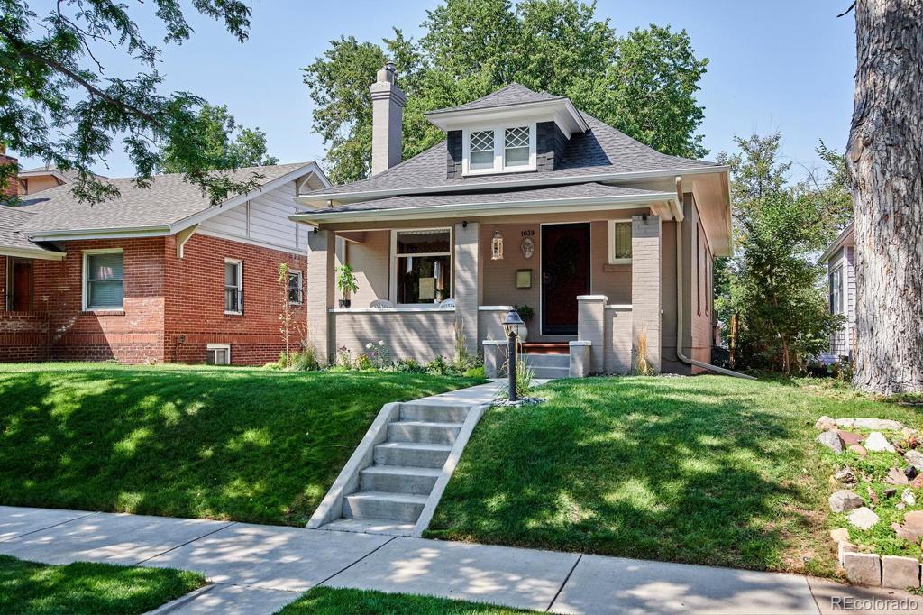 Photo of home for sale at 1039 Ogden Street S, Denver CO