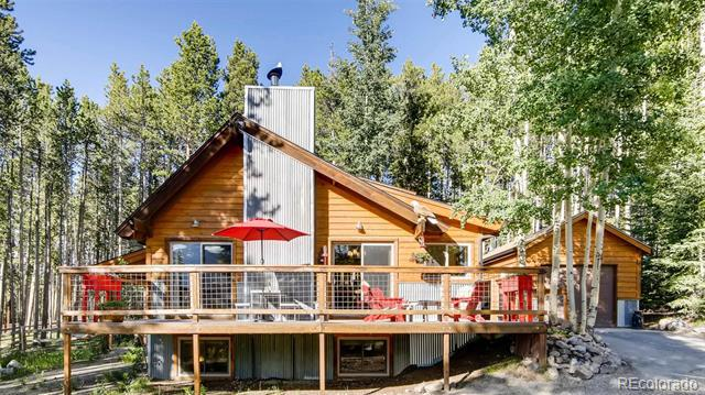 Photo of home for sale at 267 Moonstone Road, Breckenridge CO
