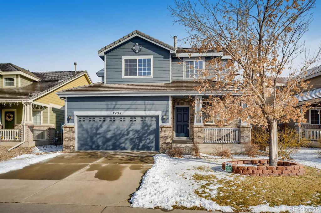 Photo of home for sale at 7434 Lewiston Street S, Aurora CO