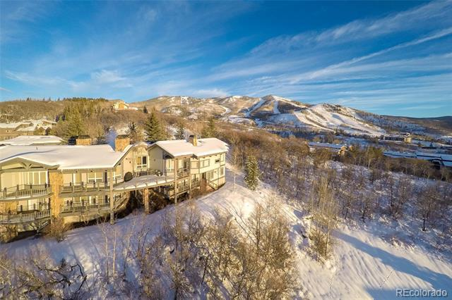 Photo of home for sale at 1297 Overlook Drive, Steamboat Springs CO