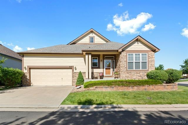 Photo of home for sale at 6647 Robb Way South, Littleton CO