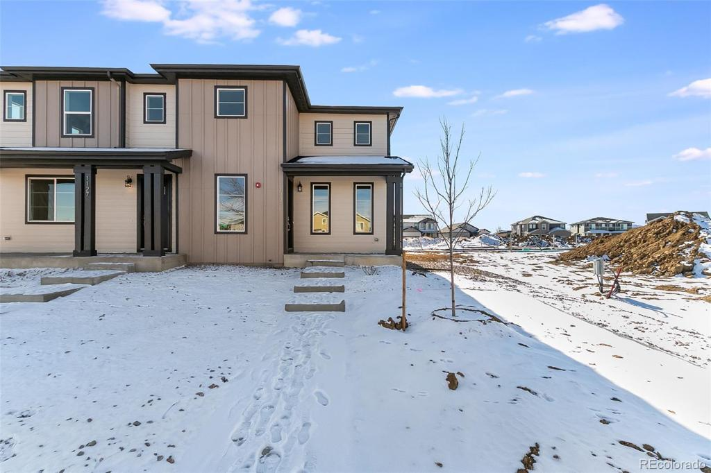 Photo of home for sale at 1133 Bon Homme Richard Drive, Fort Collins CO