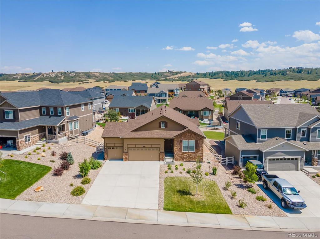 Photo of home for sale at 2908 Echo Park Drive, Castle Rock CO