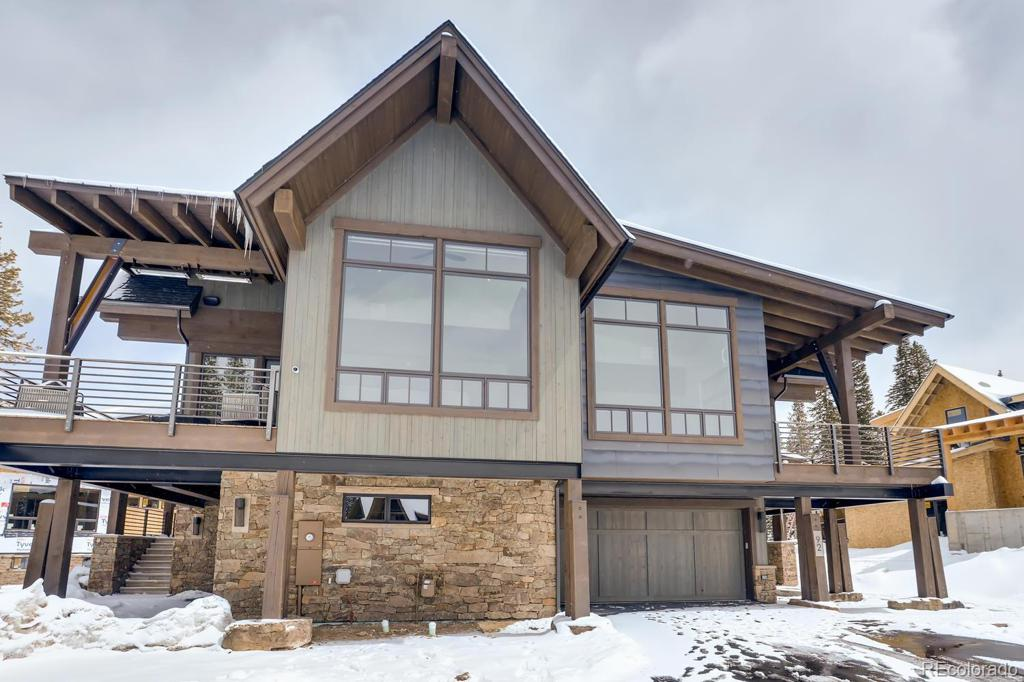 Photo of home for sale at 160 Cucumber Creek Road, Breckenridge CO