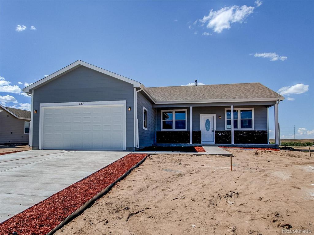 Photo of home for sale at 592 3rd Avenue S, Deer Trail CO