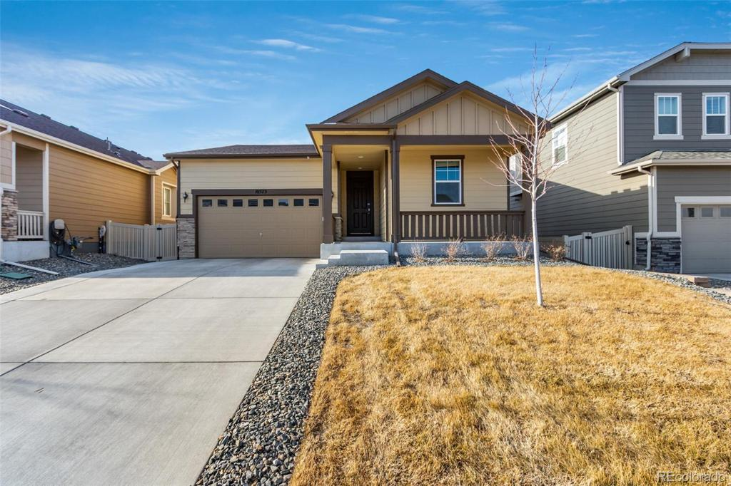 Photo of home for sale at 10573 Yosemite Street, Commerce City CO